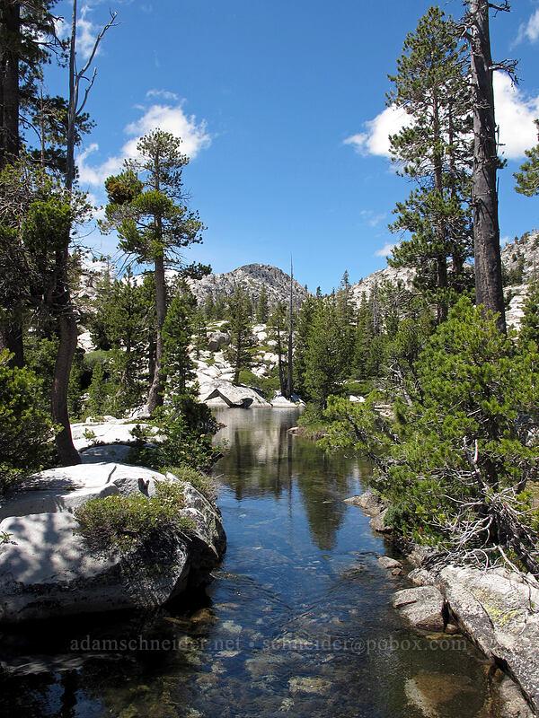 granite & water [Desolation Valley, Desolation Wilderness, California]