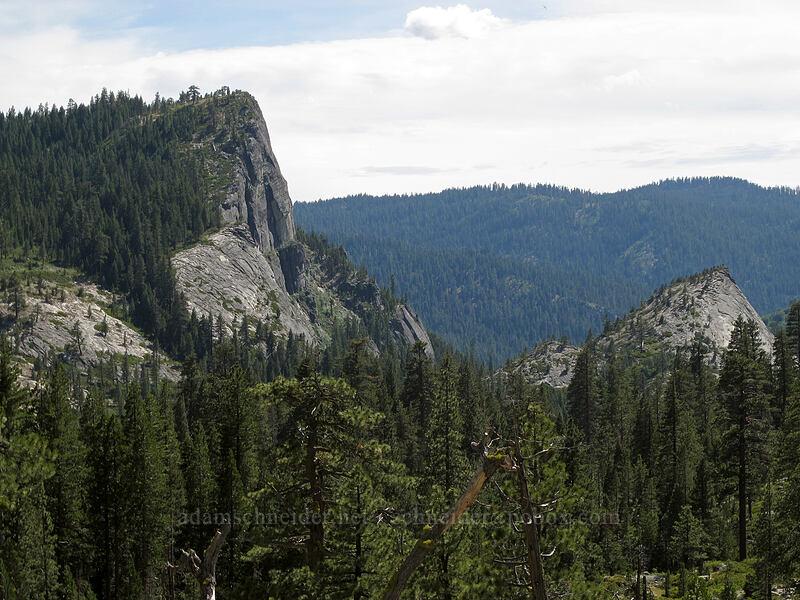 Lover's Leap [Pyramid Creek Trail, Lake Tahoe Basin, California]