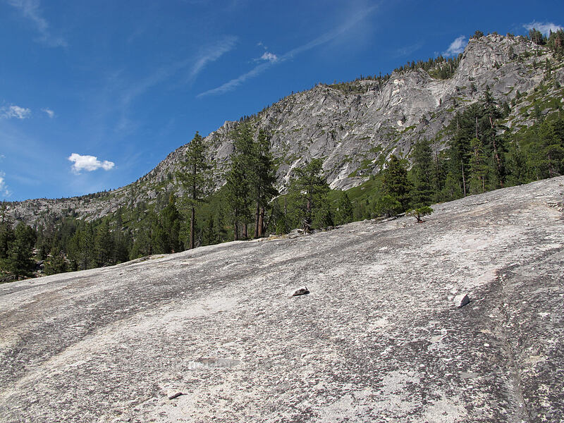 granite [Pyramid Creek Trail, Lake Tahoe Basin, California]