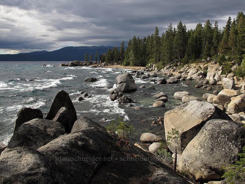 Chimney Beach [Chimney Beach Trail, Lake Tahoe Basin, Nevada]