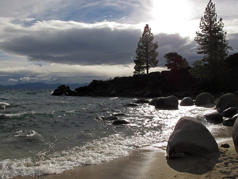 Secret Cove Beach [Secret Harbor, Lake Tahoe Basin, Nevada]