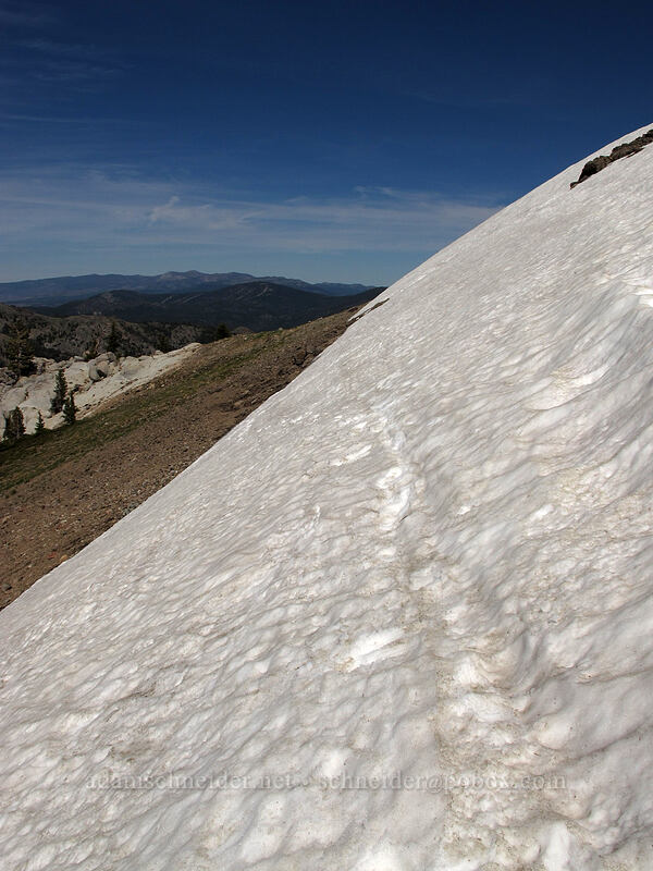 snowfield [Shirley Canyon, Squaw Valley, California]