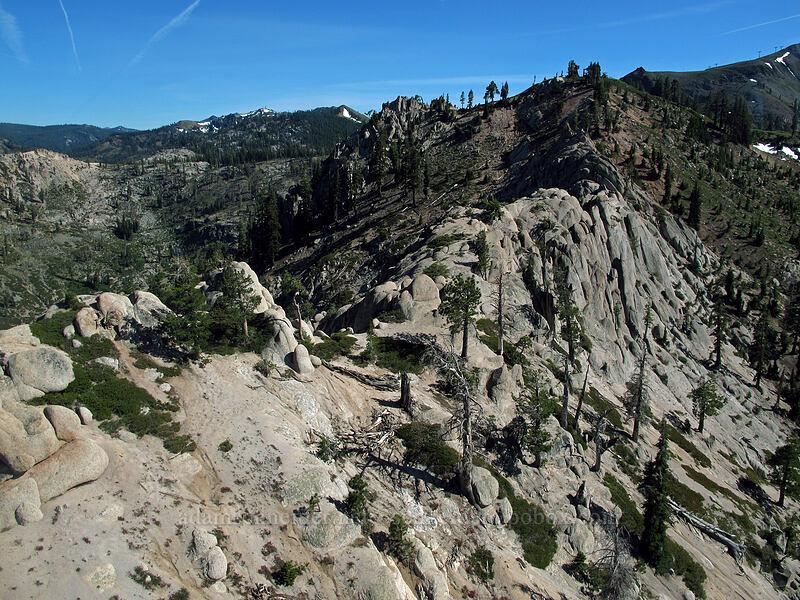 granite ridge [Squaw Valley Aerial Tram, Squaw Valley, California]