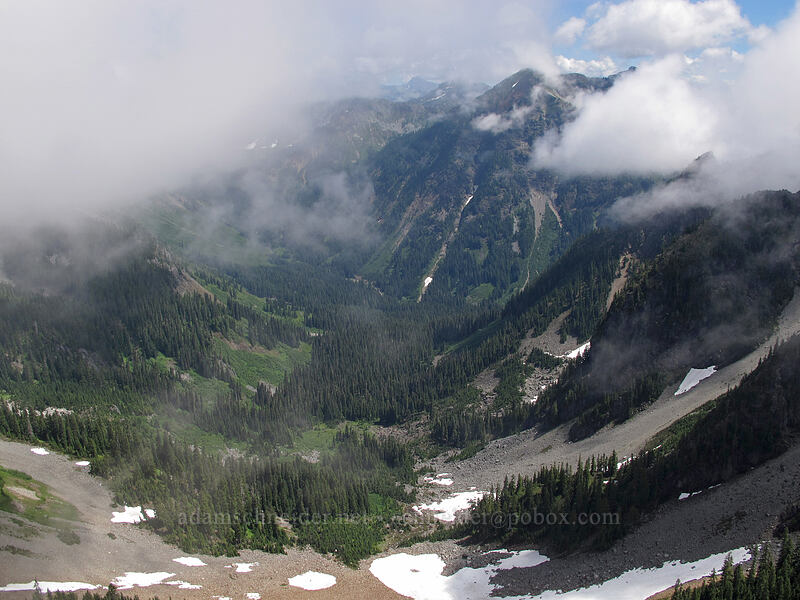 Silver Creek Valley & Alta Mountain [Kendall Peak, Alpine Lakes Wilderness, Washington]