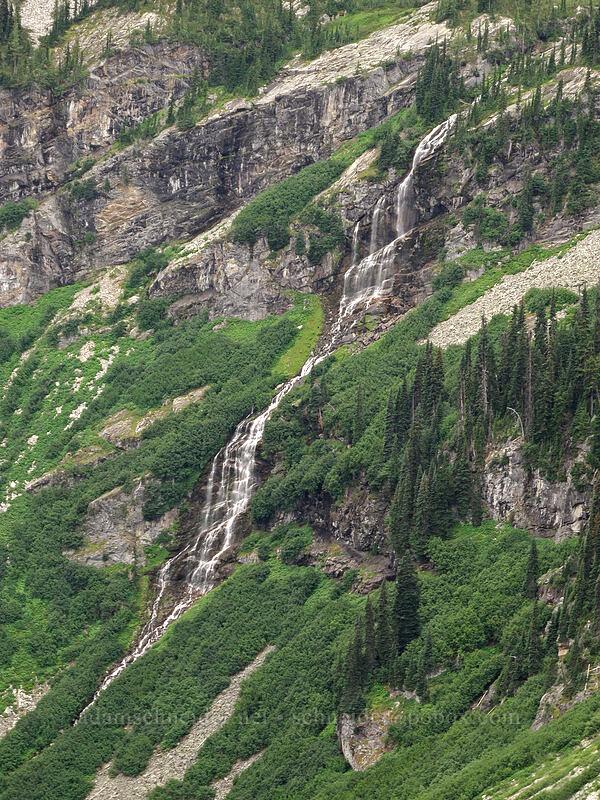 Rainy Lake Falls [Maple Pass Trail, Okanogan-Wenatchee National Forest, Washington]