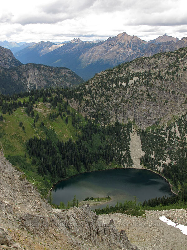 Lake Ann [Maple Pass Trail, Okanogan-Wenatchee National Forest, Washington]