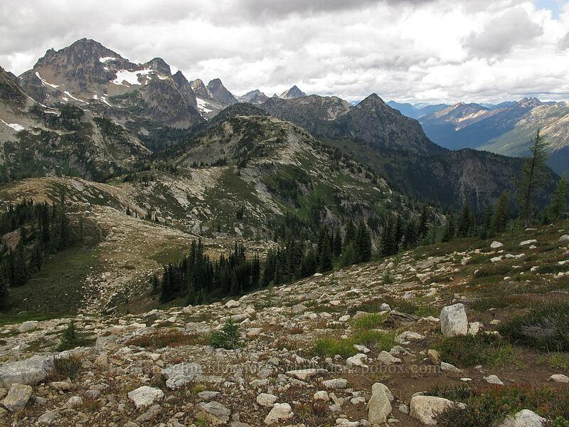 Black Peak & Maple Pass [Maple Pass Trail, North Cascades National Park, Washington]