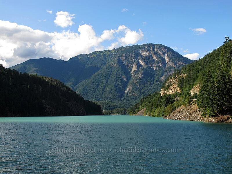 Sourdough Mountain [Thunder Arm, Ross Lake, North Cascades National Park, Washington]