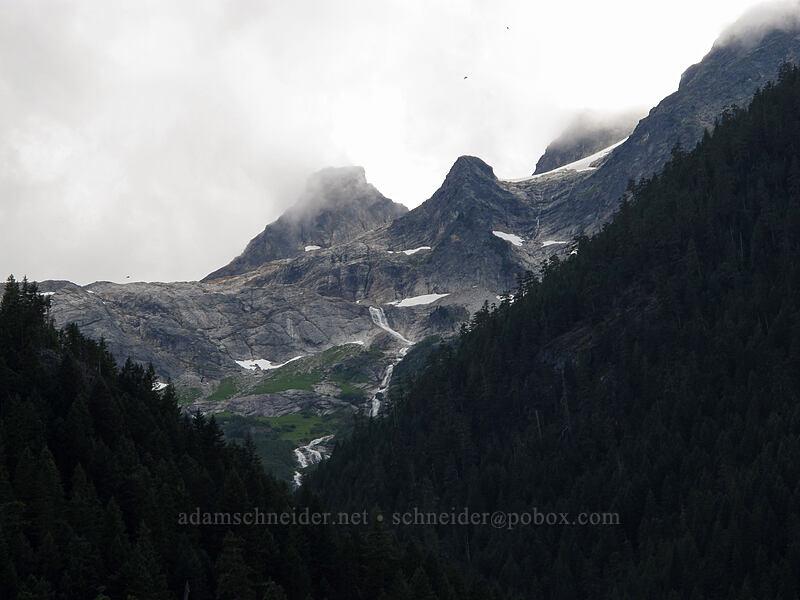 Paul Bunyan's Stump & Pinnacle Peak [Colonial Creek Campground, North Cascades National Park, Washington]