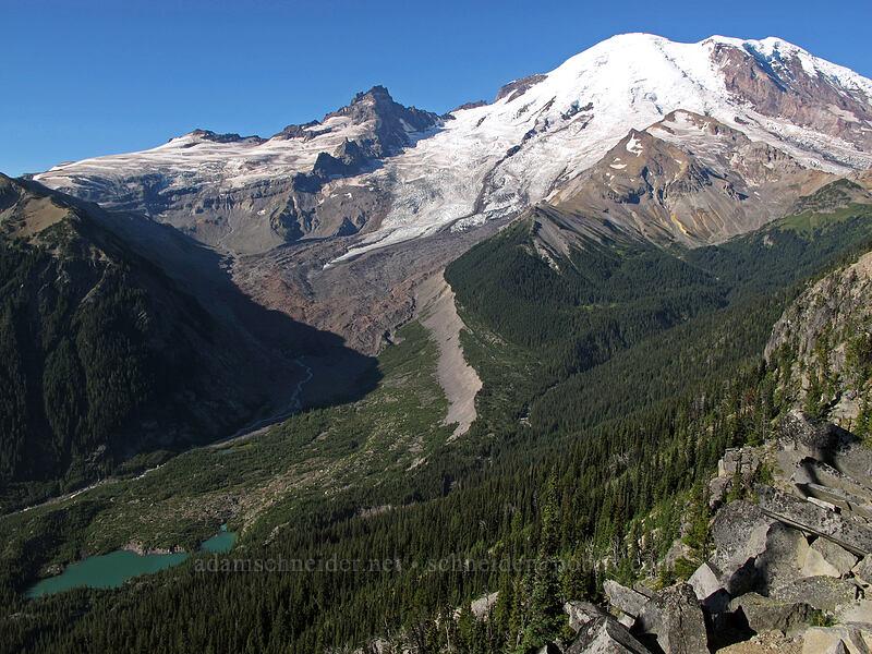 Mt. Rainier & Emmons Glacier [Emmons Overlook, Mount Rainier National Park, Washington]