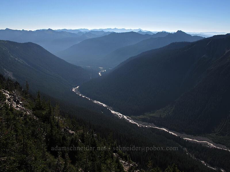 White River [Sunrise Rim Trail, Mount Rainier National Park, Washington]