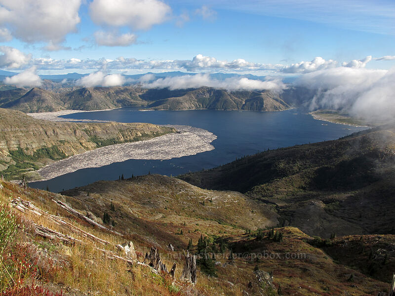Spirit Lake [Boundary Trail, Mt. St. Helens National Volcanic Monument, Washington]