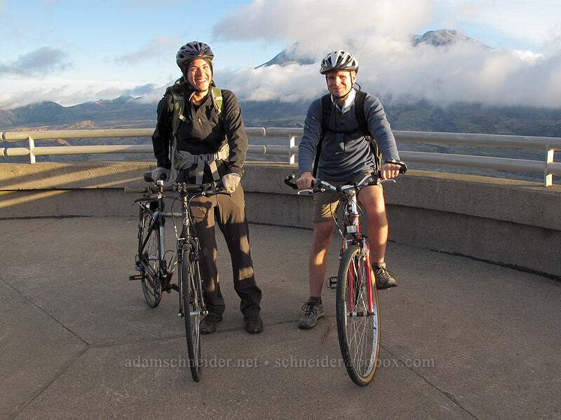 Tamiko & Adam [Johnston Ridge Observatory, Mt. St. Helens National Volcanic Monument, Washington]