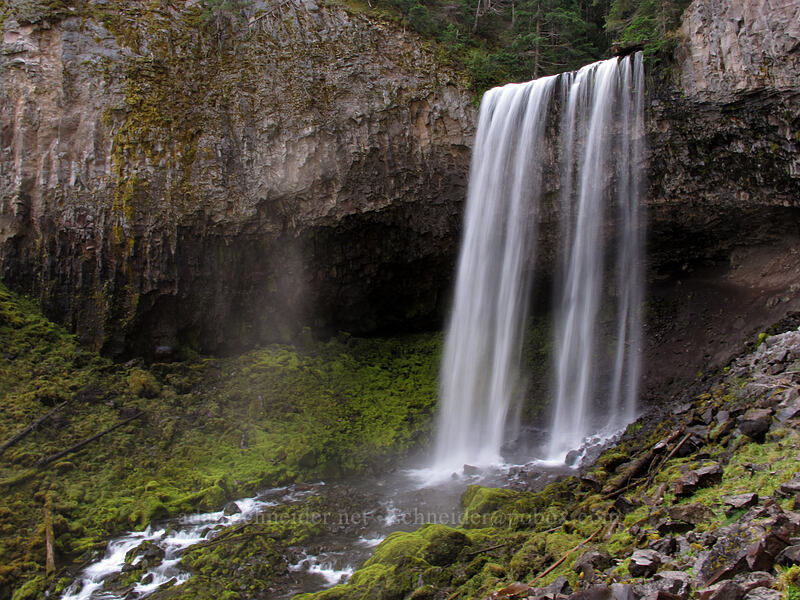 Tamanawas Falls [Tamanawas Falls Trail, Mt. Hood National Forest, Oregon]