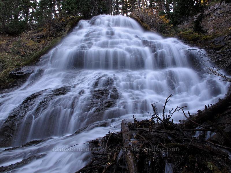 Umbrella Falls [Umbrella Falls Trail, Mt. Hood National Forest, Oregon]