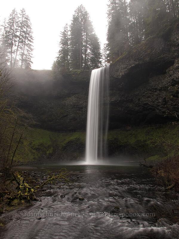 South Falls [Canyon Trail, Silver Falls State Park, Oregon]