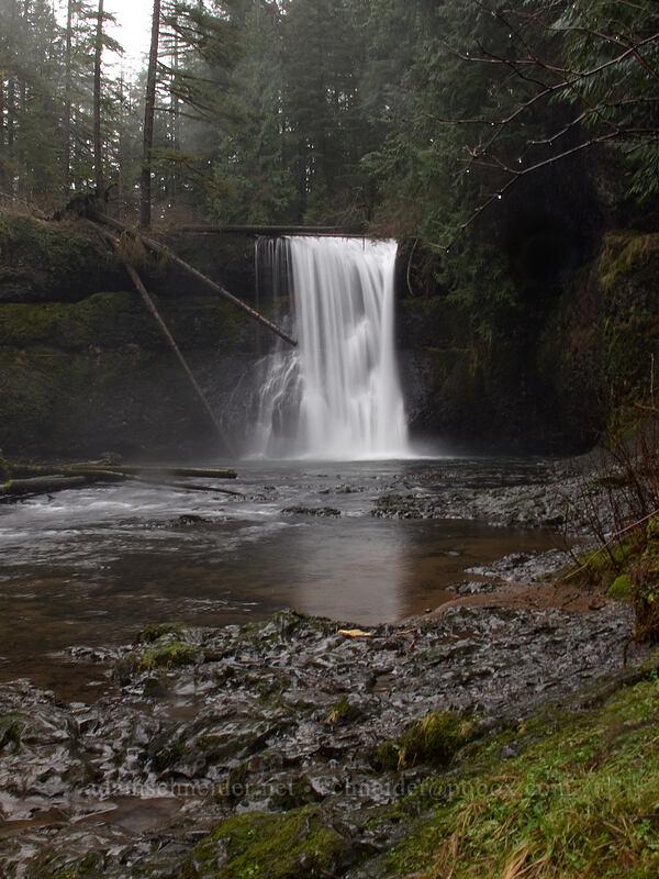 Upper North Falls [Canyon Trail, Silver Falls State Park, Oregon]