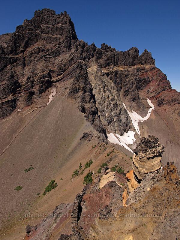 Three-Fingered Jack [Three-Fingered Jack's east ridge, Mt. Jefferson Wilderness, Oregon]