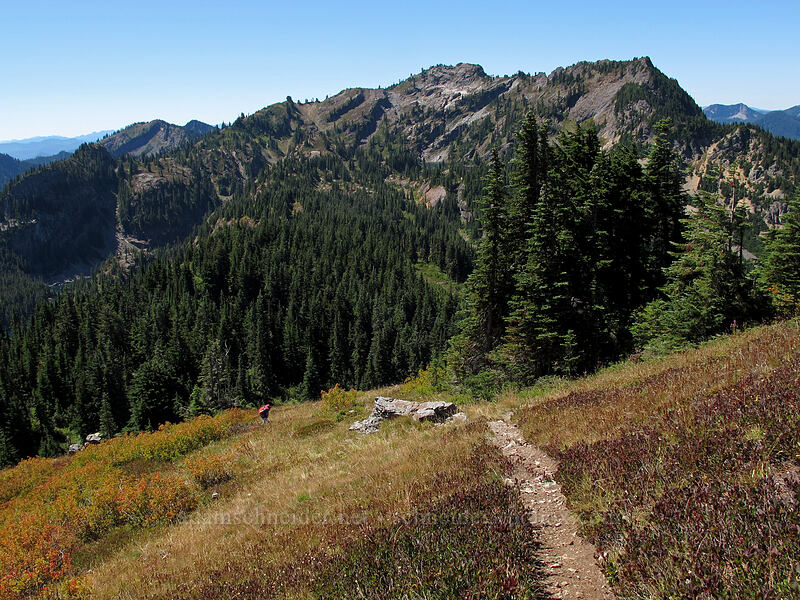 south end of Rampart Ridge [Rampart Ridge, Alpine Lakes Wilderness, Washington]