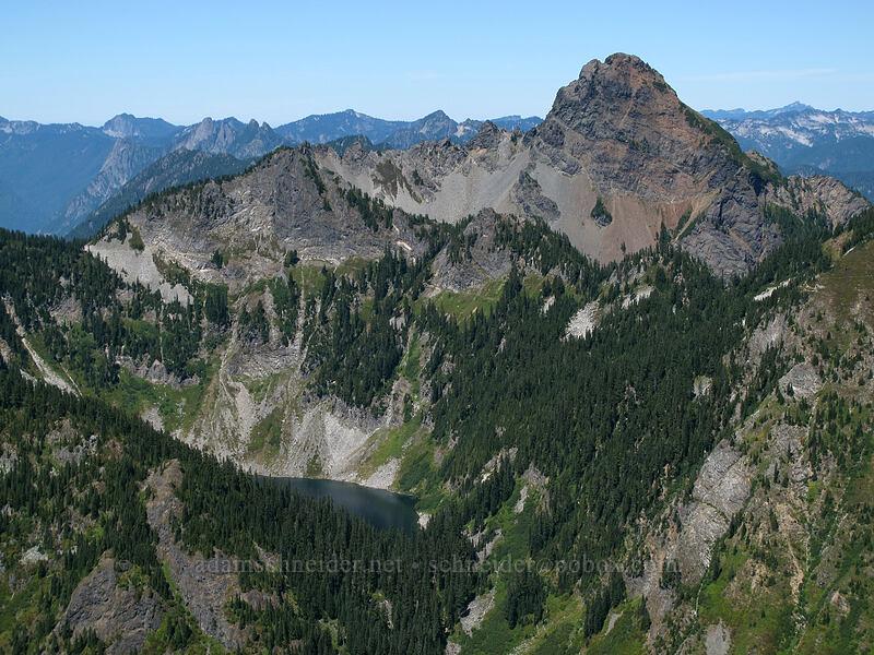 Mt. Thomson & Alaska Lake [Alta Mountain summit, Alpine Lakes Wilderness, Washington]