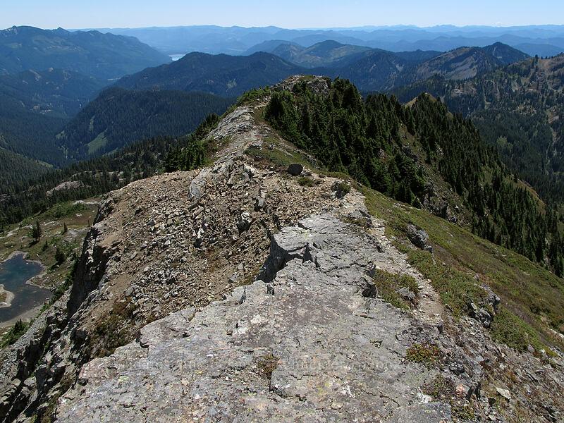 Alta Mountain's south ridge [Alta Mountain, Alpine Lakes Wilderness, Washington]