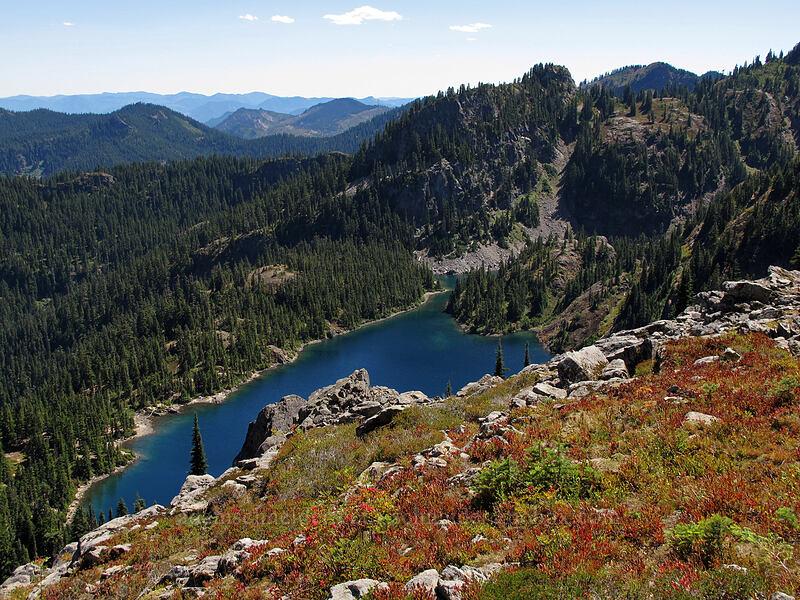Rachel Lake [Rampart Ridge, Alpine Lakes Wilderness, Washington]