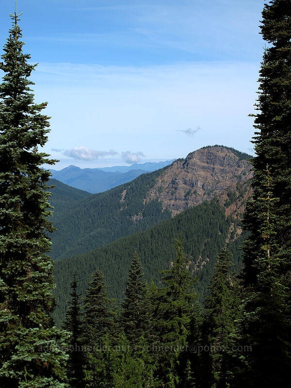 Angry Mountain [Goat Ridge Trail, Goat Rocks Wilderness, Washington]