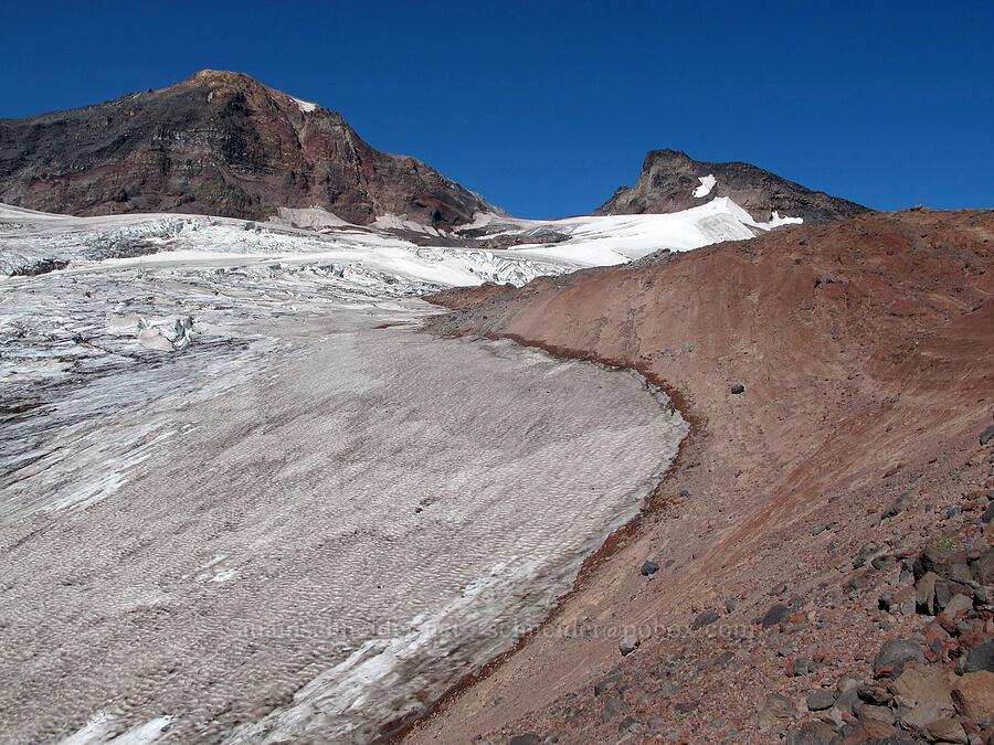 Middle Sister, Prouty Point, & Hayden Glacier [north of Hayden Glacier, Three Sisters Wilderness, Oregon]