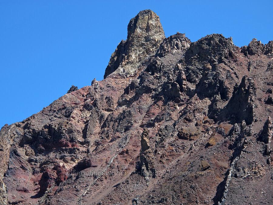 summit of North Sister [below North Sister, Three Sisters Wilderness, Oregon]
