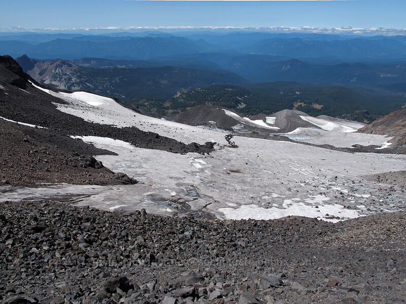 Renfrew Glacier [top of Hayden Glacier, Three Sisters Wilderness, Oregon]