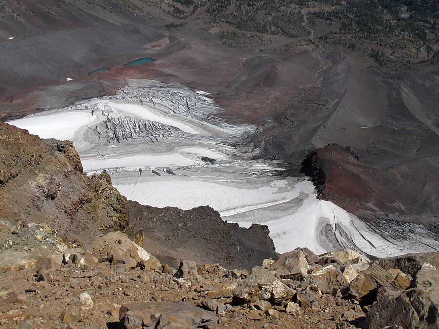 Hayden Glacier [Middle Sister summit, Three Sisters Wilderness, Oregon]