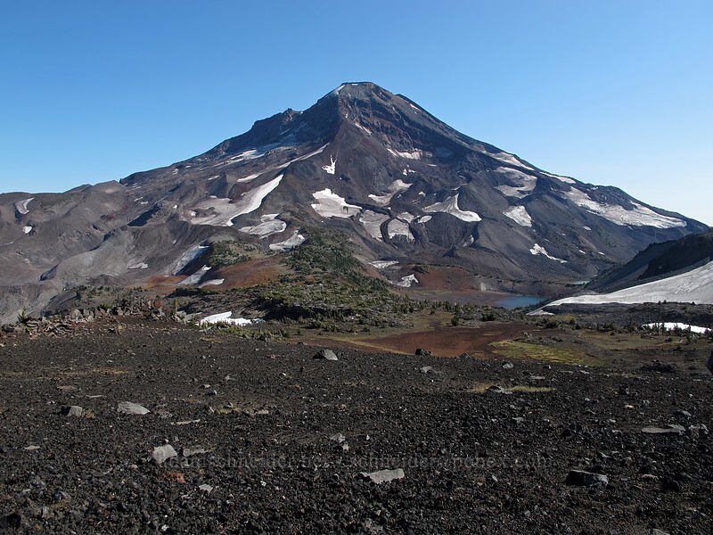 South Sister [southeast of Middle Sister, Three Sisters Wilderness, Oregon]