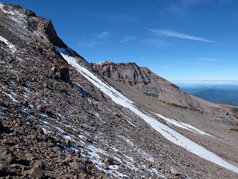 Barrett Spur & Langille Glacier [Langille Crags, Mt. Hood Wilderness, Oregon]