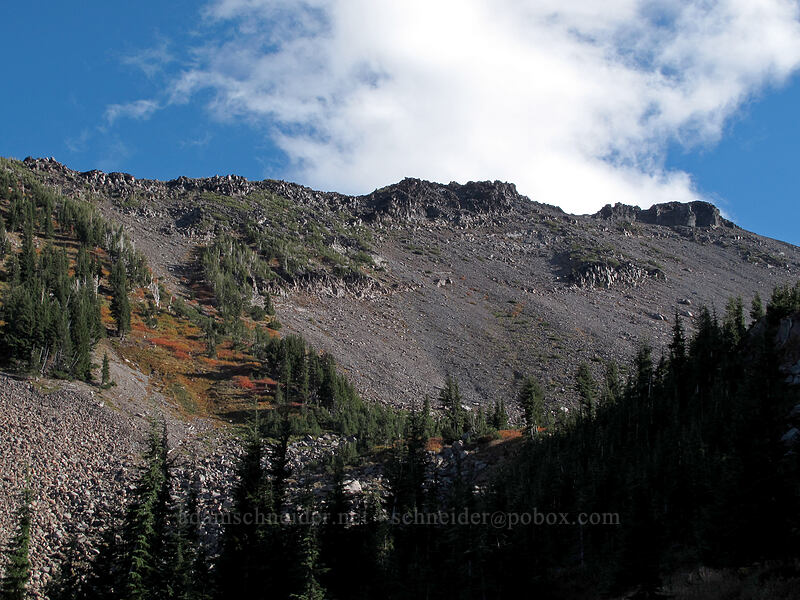 Langille Crags [Timberline Trail, Mt. Hood Wilderness, Oregon]