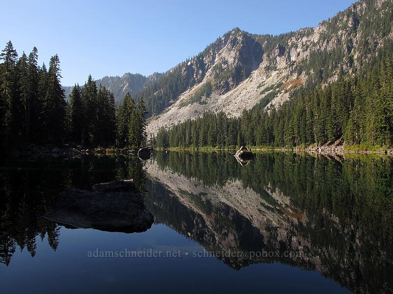 Surprise Lake & Spark Plug Mountain [Surprise Creek Trail, Alpine Lakes Wilderness, Washington]