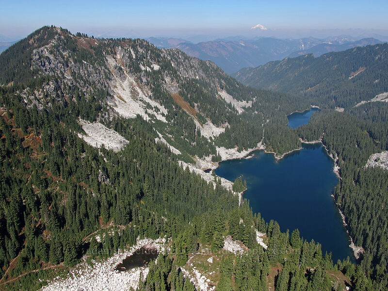 Spark Plug Mountain, Glacier Lake, & Surprise Lake [Surprise Mountain, Alpine Lakes Wilderness, Washington]