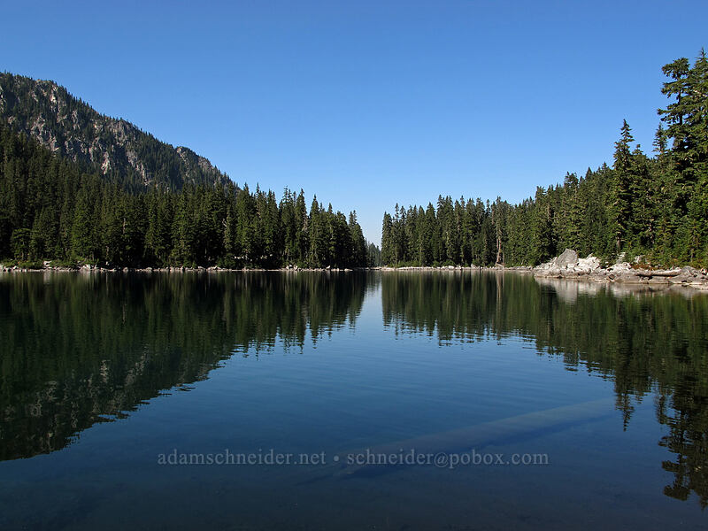 Glacier Lake [Pacific Crest Trail, Alpine Lakes Wilderness, Washington]