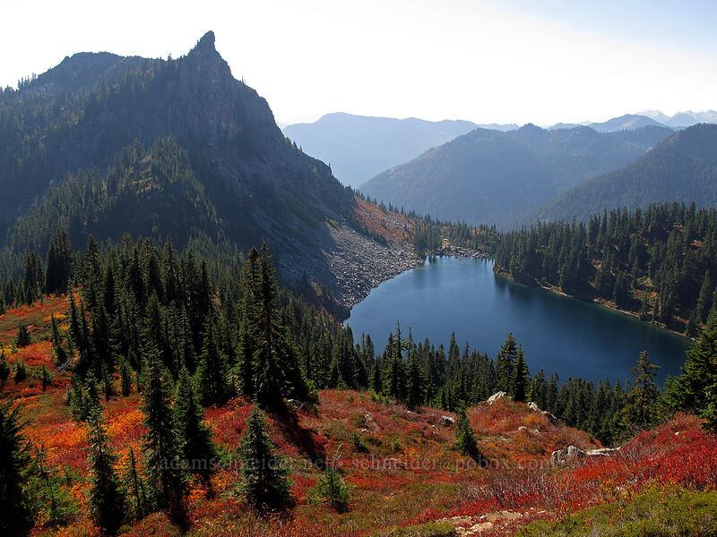 Lichtenberg Mountain & Lake Valhalla [Mt. McCausland, Henry M. Jackson Wilderness, Washington]