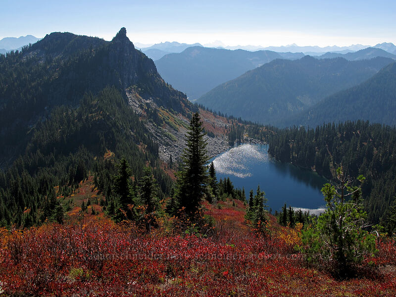 Lichtenberg Mountain & Lake Valhalla [Mt. McCausland, Henry M. Jackson Wilderness, Washington]