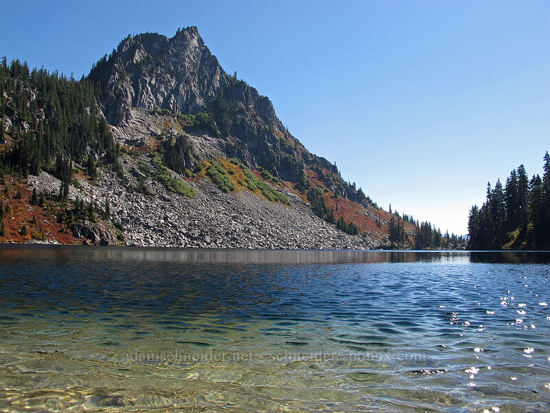 Lichtenberg Mountain & Lake Valhalla [Lake Valhalla, Henry M. Jackson Wilderness, Washington]
