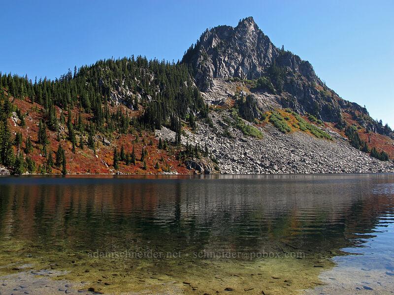 Lichtenberg Mountain & Lake Valhalla [Lake Valhalla, Henry M. Jackson Wilderness, Washington]