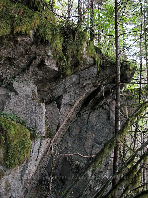 overhanging cliffs [Index Town Wall, Index, Washington]