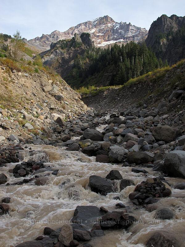 Mount Hood & Muddy Fork [Pacific Crest Trail, Mt. Hood Wilderness, Oregon]
