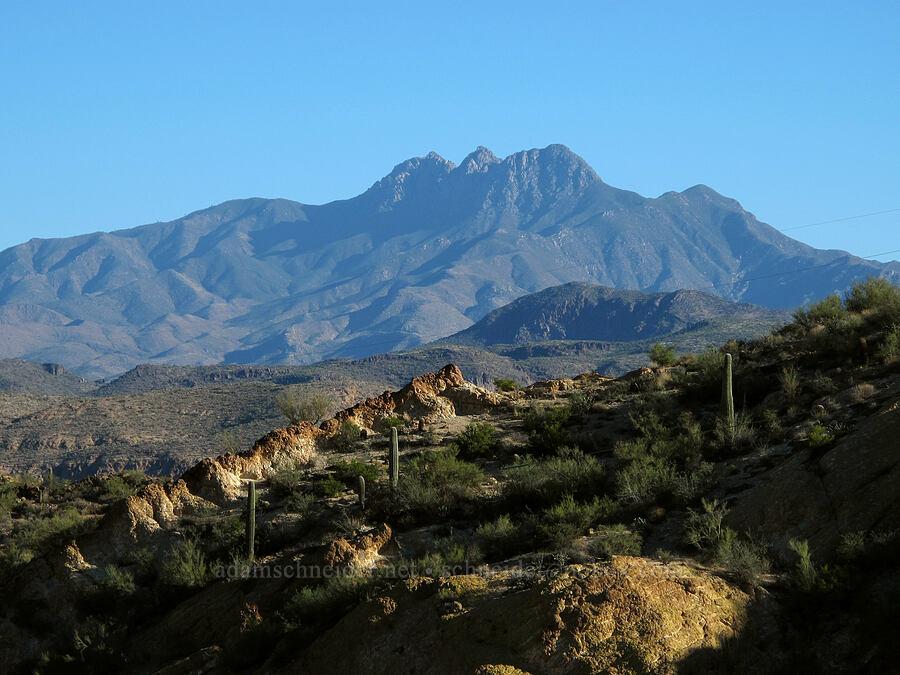 Four Peaks [Apache Trail (SR 88), Tonto National Forest, Arizona]