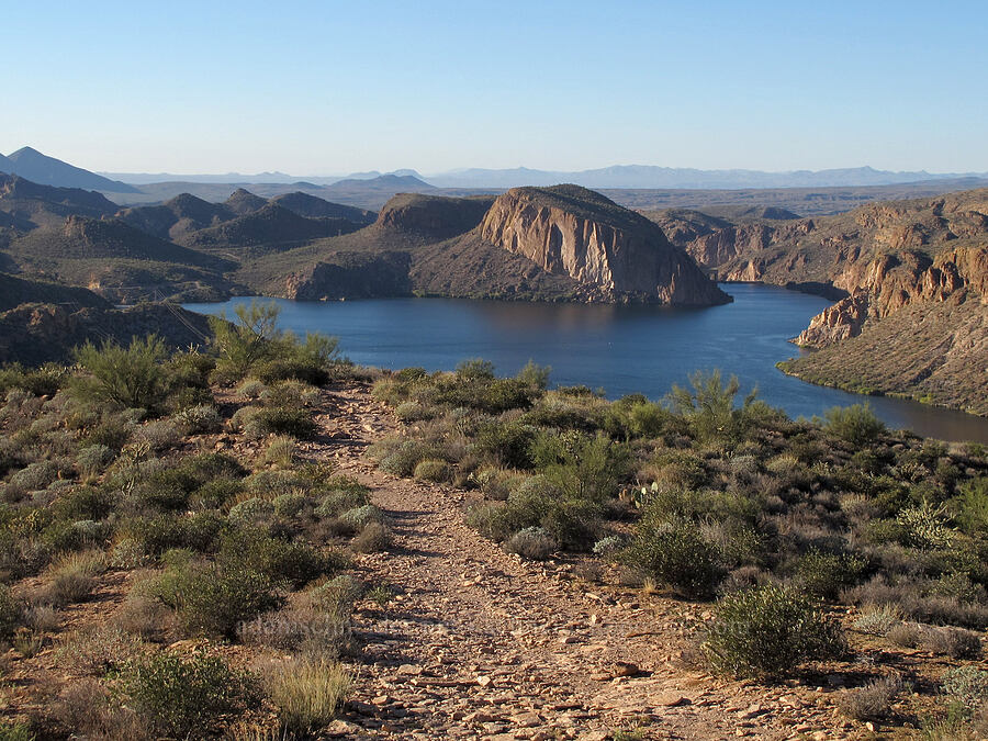 Canyon Lake [Boulder Canyon Trail, Superstition Wilderness, Arizona]