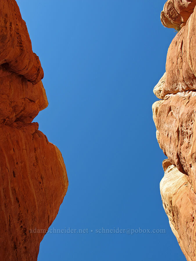 red rock & blue sky [Cathedral Rock, Coconino National Forest, Arizona]