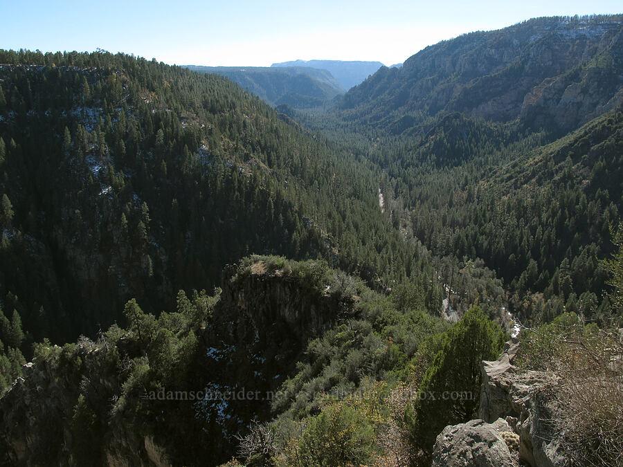 Oak Creek Canyon [Oak Creek Vista, Coconino National Forest, Arizona]