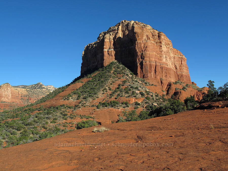 Courthouse Butte [Bell Rock Trail, Munds Mountain Wilderness, Arizona]
