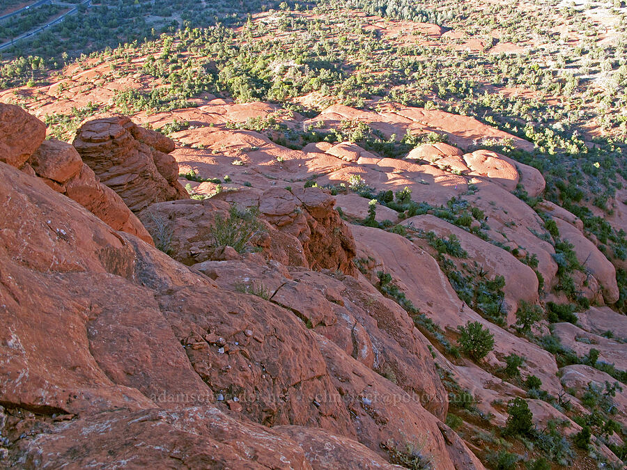 north side of Bell Rock's base [Bell Rock, Munds Mountain Wilderness, Arizona]