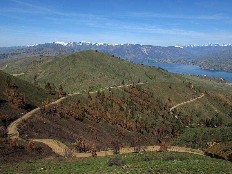 Chelan Mountains, Lake Chelan, & Butte Lookout Road [Butte Lookout Road, Chelan County, Washington]
